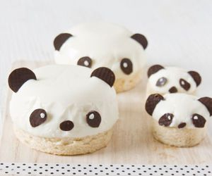 panda, food, and cute image