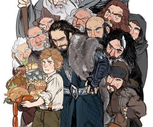 gandalf, the hobbit, and tolkien image