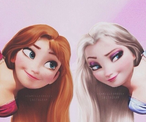 disney, tangled, and elsa image