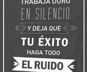 exito, frases, and silence image