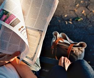 newspaper and vintage image