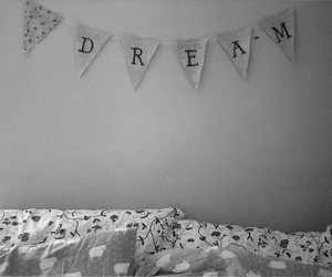 Dream, bed, and vintage image