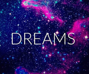 Dream and galaxy image