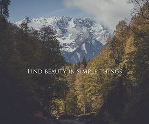 beauty, mountains, and quotes image