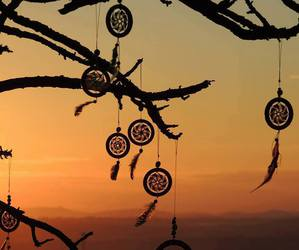 dream catcher and love image