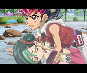 couple, yugioh, and yuma image