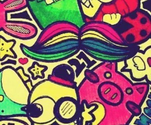 colores, cute, and paint image