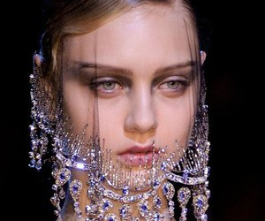 Armani Prive, eyes, and face image