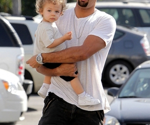 *-*, daddy, and hank baskett image