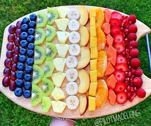 fruit, food, and banana image
