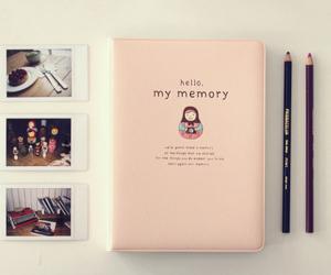 memories, book, and diary image