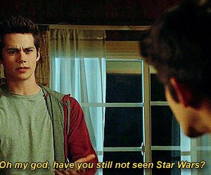 teen wolf, dylan o'brien, and star wars image