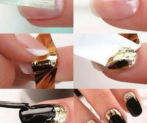 diy, nails, and tutorial image