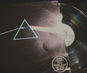 band, dark side of the moon, and vintage image