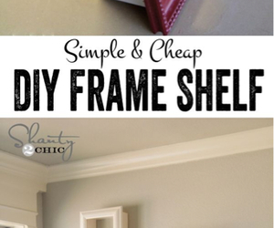 diy, ideas, and frame image