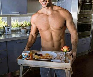 abs, Hot, and food image