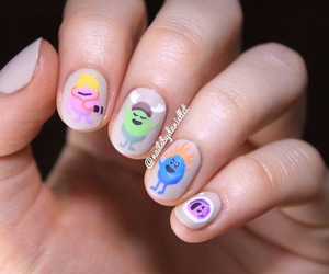 nail art, nails, and dumb ways to die image