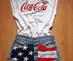 cocacola, fashion, and short image