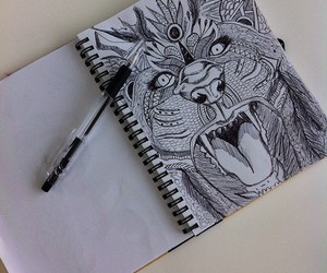 art, bic, and draw image