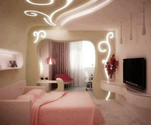 pink, decoration, and lovely image