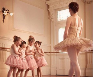 ballet, cute, and rosa image