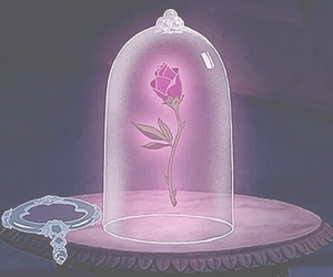 disney, rose, and belle image