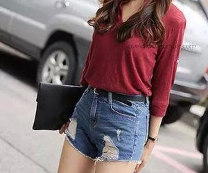 blouse, clothes, and girl image