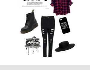 clothes, dark, and outfit image