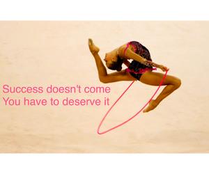 gymnastics, sport, and quote image