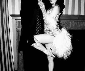 Dita von Teese, Marilyn Manson, and perform image