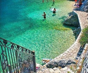 summer, sea, and Greece image