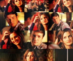 beckett, couple, and castle image