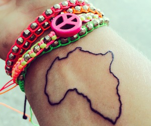 tattoo, peace, and world image