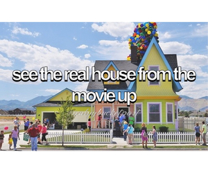 balloons, disney, and house image