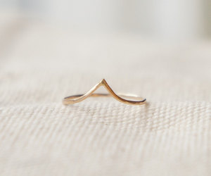 gold and ring image