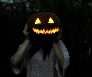 creepy, dark, and Halloween image