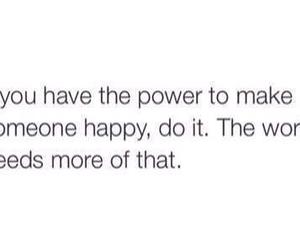 quote, happy, and power image