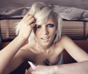 blonde, anja konstantinova, and car image