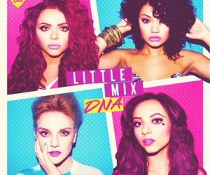 little mix, DNA, and perrie edwards image