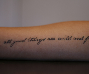 tattoo, free, and quote image