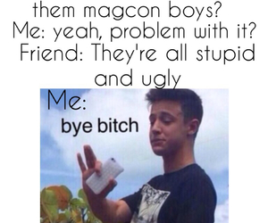 bitch and camerondallas image