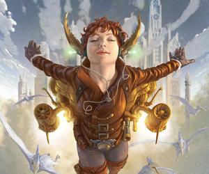 steampunk, art, and surreal image