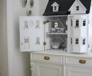 miniature doll house image