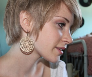 girl, gorgeous, and pixie cut image