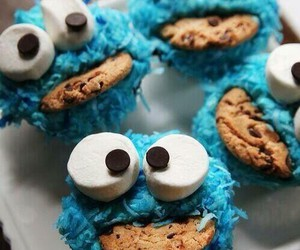 blue, cokies, and postres image