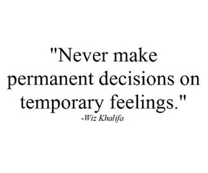 quotes, feelings, and decisions image