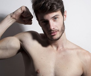 Hot, model, and male image