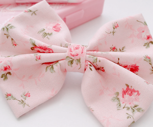 pink, bow, and pastel image