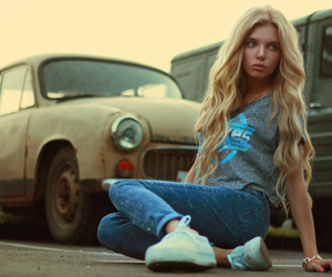 girl, russian, and fashion image