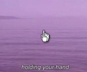 grunge, purple, and hand image